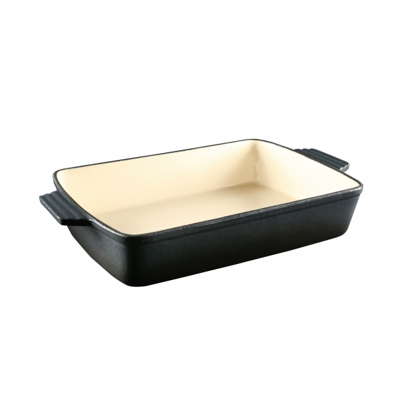 Charcoal Cast Iron Roasting Dish